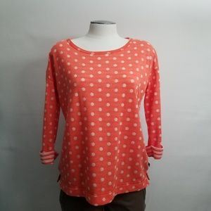 T by Talbots Polka dot Pullover